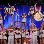 NCAA Cheerleading competition via PR Newswire