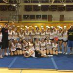 cheer camp group image Loyola